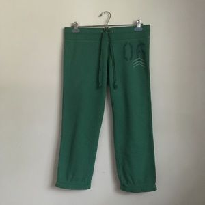 Aerie Green Joggers Sweatpants Size Medium